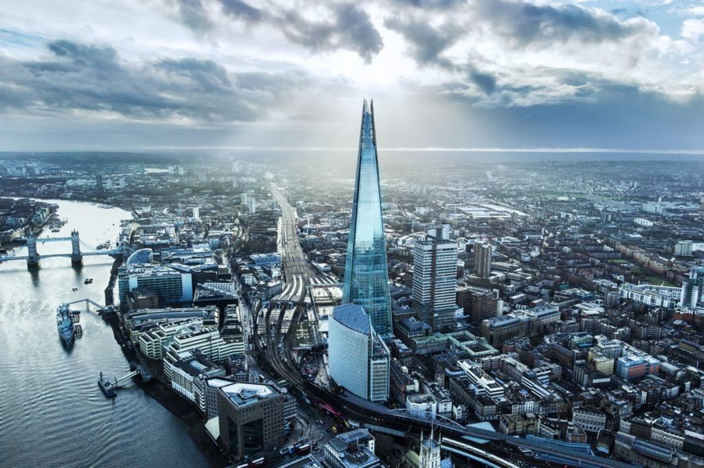 Image of The Shard sourced from project lead website https://www.byrnelooby.com/projects/the-shard/